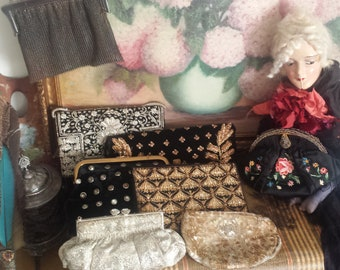 Various Antique and Vintage Purses.  Pick one or more. Prices Vary.