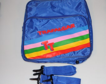 Trafalgar Rainbow Shoulder Duffel Travel Bag Vintage 1990s