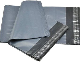 """200 Poly Mailers Self Sealing Envelopes Bags 9"""" x 12"""" Packaging Packing Shop Shipping Supplies Jenuine Crafts"""