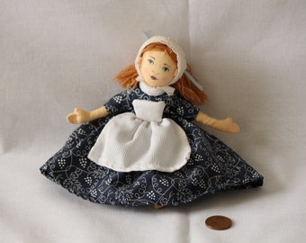 Early American Cloth Folk Doll