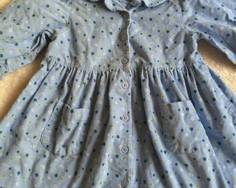Vintage Gymboree Cotton Candy corduroy dress