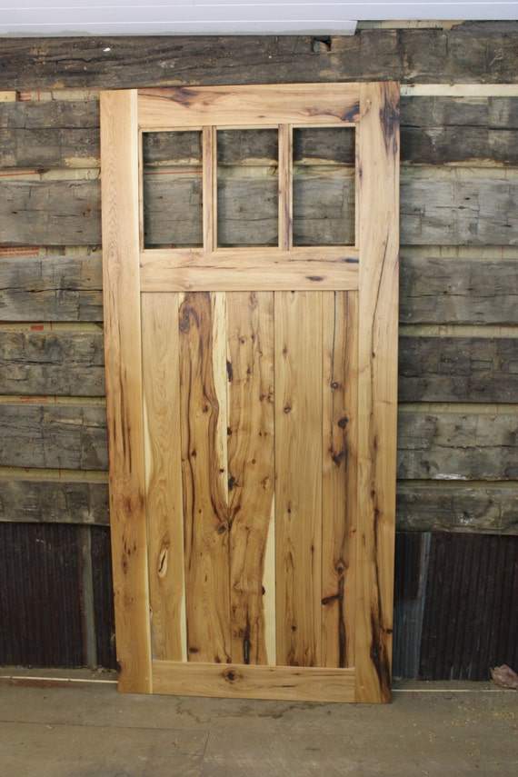 & Hickory Mission Style Barn Door Room Dividers Made to Order