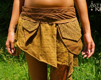 4 Colours; Layered Pixie Skirt