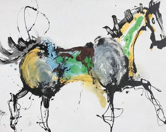 Qunce Zeng 772 abstract 35×47""