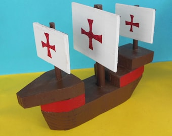 Wooden Toy Caravel