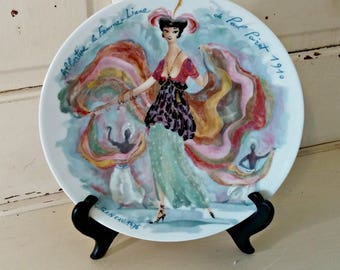 Collectible Plate | D'Arceau-Limoges Les Femmes Du Siecle Women of the Century 5th Plate Albertine