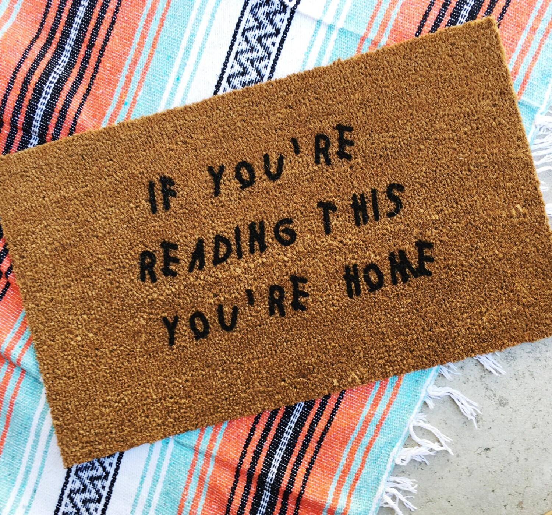 custom beaver day good mat doormat mats gifts cute resolutions post welcome h hd x doormatswelcome door doormats ultra wild w