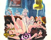 Playboy Cartoon - a rough...