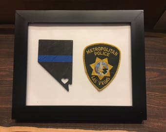 Patch Display Case First Responder