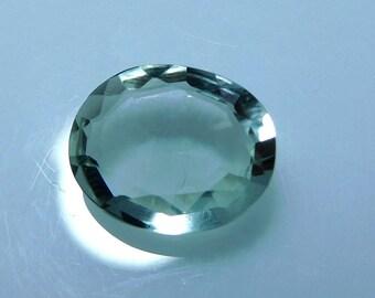10x12x5 mm Cts 3.60 Green Amethyst Gemstone Oval Faceted Amethyst stone,PCD 1682