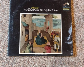 Amahl and the Night Visitors 1964 Vintage Vinyl LP Record