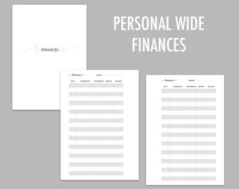 Personal Wide Finances - RINGS