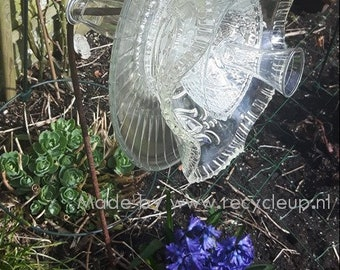 Glass large flower-pick only
