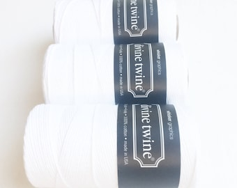 White Twine (240 yards) 1 Spool
