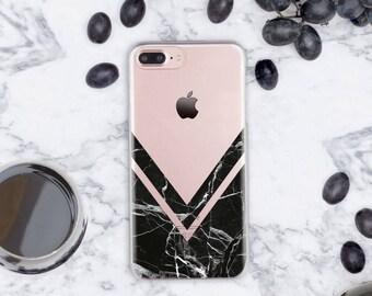 Geometry iPhone 7 Plus Case Clear iPhone SE Case iPhone 8 iPhone Case Clear iPhone 6s Case Marble iPhone 7 Case Clear iPhone 6 Phone cn1007
