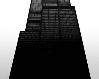 Sears / Willis Tower Chicago 11x17 Print