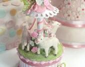 Baby Lamb Cake Topper, Ke...
