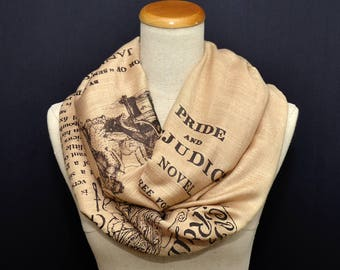 SLIGHTLY IMPERFECT *** Pride and Prejudice Shawl Scarf Wrap