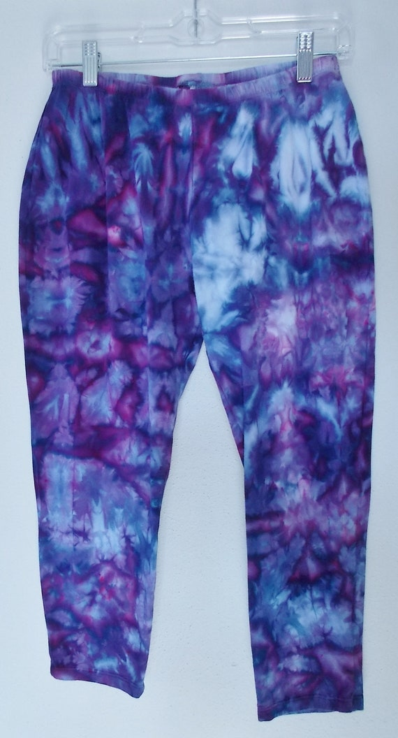 Capri Length Leggings Large cotton spandex workout pants