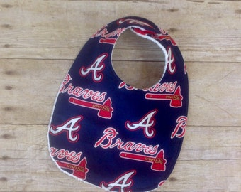 Atlanta Braves Infant Bib