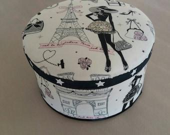 Mademoiselle Paris customized jewelry box