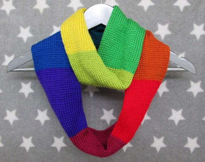 Rainbow Infinity Scarf - Neurodiversity - Pride - LGBT