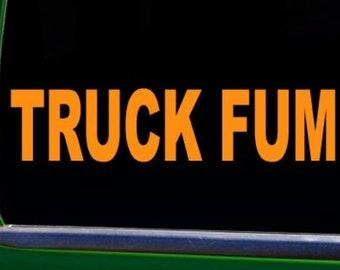 Fuck Trump (Truck Fump) Car Window Bumper Sticker