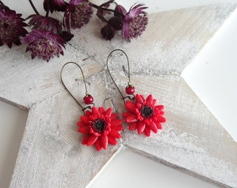 Lengthh germinis Flower earrings Flower Earrings