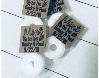 Mint To Be Wedding Favors/Fully Assembled/Candy Favor