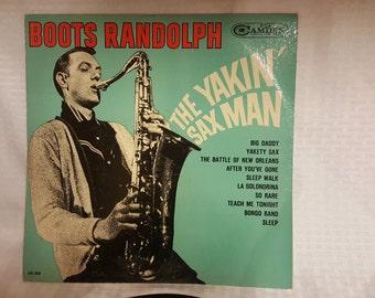 Boots Randolph The Yakin' Sax Man Vintage Record