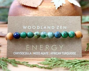 Crystal Bracelet Healing Bracelet, Crystal Bracelet for Men, Women, Gemstone Bracelet, Energy Bracelet,