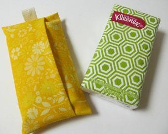 Tissue Case/Yellow Flower