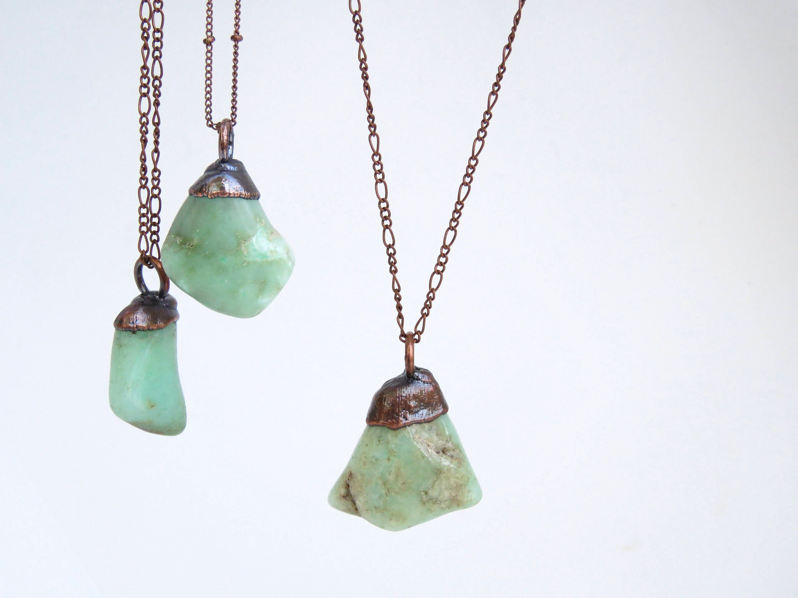 necklace img products chrysoprase samara fairley