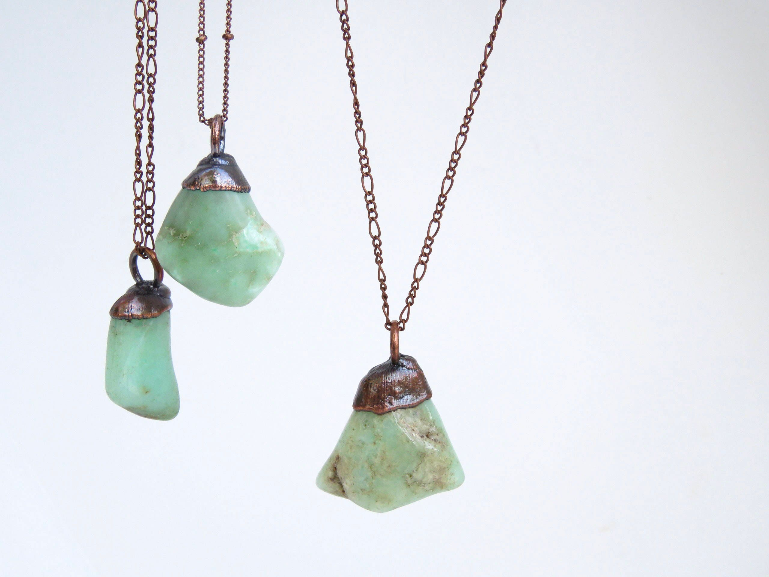 products amaleia necklace nalani chrysoprase