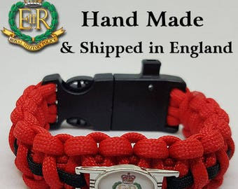 The Royal Military Police - Paracord Bracelet Wristband Great Gift