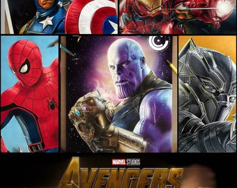 Infinity War 5 Print Pack LIMITED EDITION
