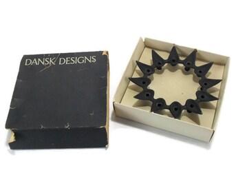DANSK Tiny Taper Candle Holder in Box * STARCLUSTER No. 1706 * Jens Quistgaard