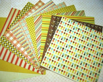 12 6 x 6 inches We R Memory Keepers Country Livin' Paper Collection for Scrapbooking Mini Albums Cards Altered Art Tags and Papercrafts