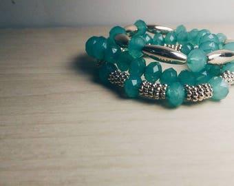 Sea Green Bracelet Trio