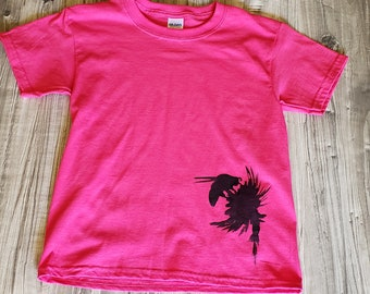 Bumble Bee - Silhouette Of A Honey Bee At Work - Bean Wear T-Shirt - Fun Based Child's Shirt - Nature At It's Best - Insect World Tee