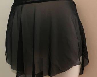 Mesh Ballet Skirt