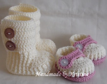 baby booties shoes boots baby girl shoes crochet shoes crochet booties infant girl knitted baby booties crochet baby CHOOSE COLOUR