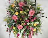 Large Spring Wreaths, Bir...