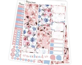 Blossoms Mini kit Planner Stickers for Erin Condren Life Planner // #MK-21