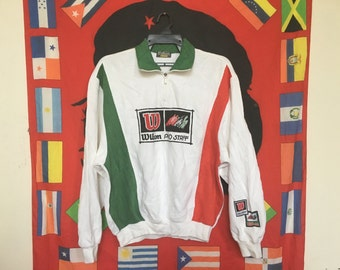 Vintage Wilson Pro Staff Big Logo Sweatshirt Multicolor Sweater
