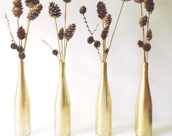 Upcycled Bottle Centerpieces
