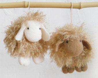 Stuffed Lamb Sheep Animal Gift Small Soft Toy Animal Mini Toy 4 inches Stuffed Small Animal Gift Cute Stuffed Plush Toy Animal Sheep