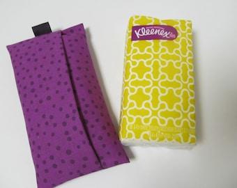 Tissue Case/Purple Spots