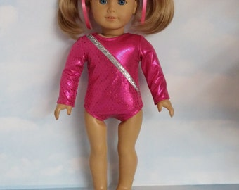 Pink Leotard 18 inch doll clothes - #114