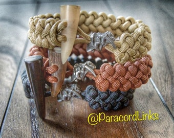 Sabertooth Paracord Bracelet (Dragons Claw)